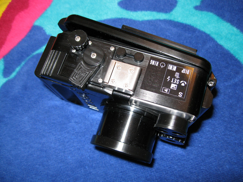 fisheye fix underwater camera housing