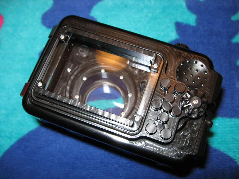 canon s90 fix housing