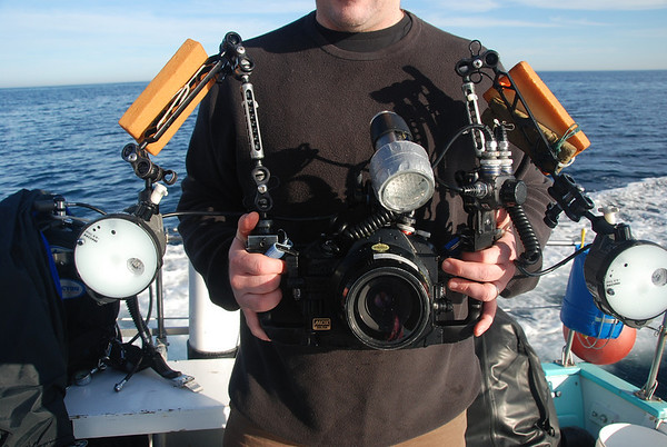 underwater photography equipment