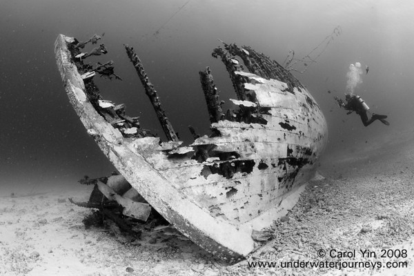 bonaire underwater wreck